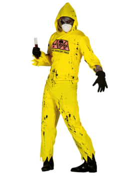 Radioactieve Zombie Kostuum | Halloween