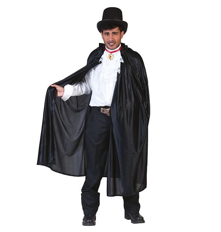 Cape Zwart Dracula Kostuum | Halloween
