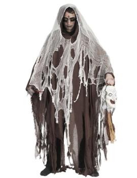 Satanic Ghost Kostuum | Halloween  Geest