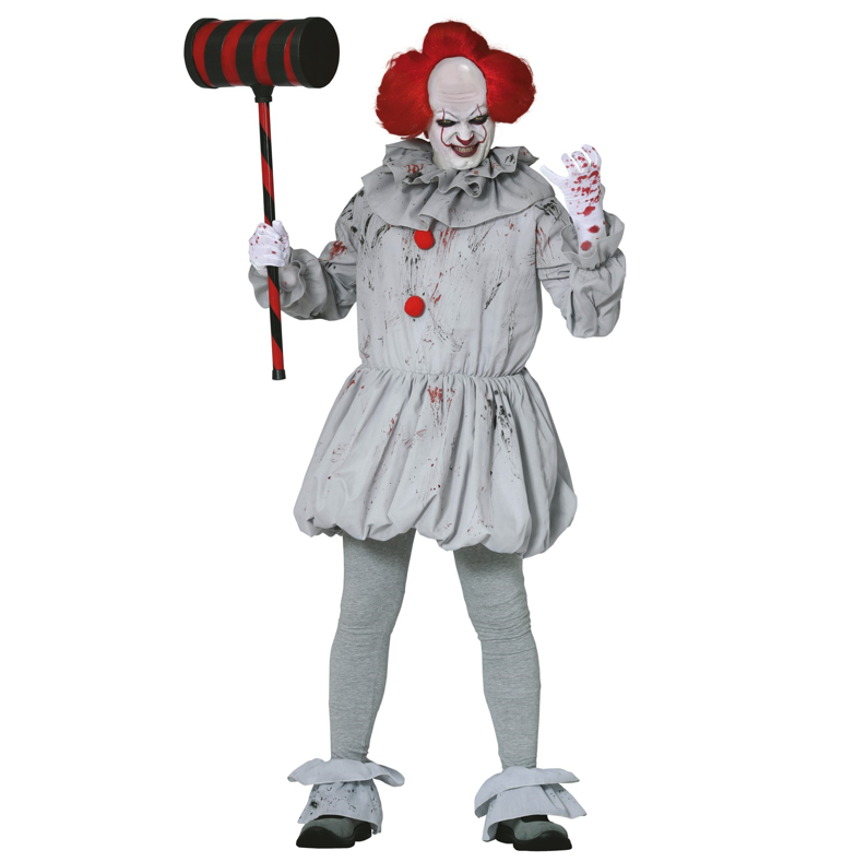 Horrorclown Heren Kostuum | Halloween