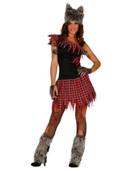 Weerwolf Dames Kostuum | Halloween