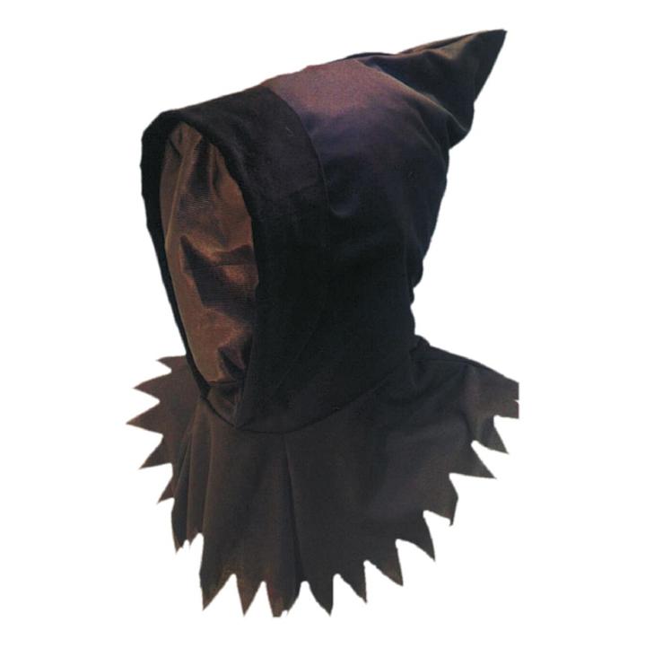 Ghoul Black/Zwart Masker | Halloween