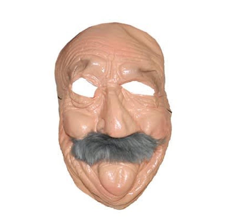 Bompa Masker Met Snor