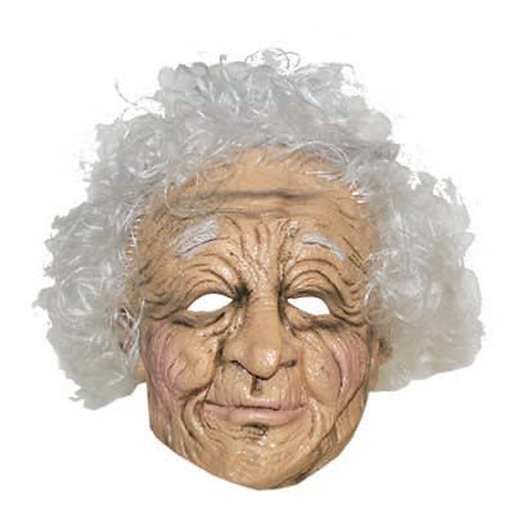 Bomma Masker / Oma Masker Met Krullen