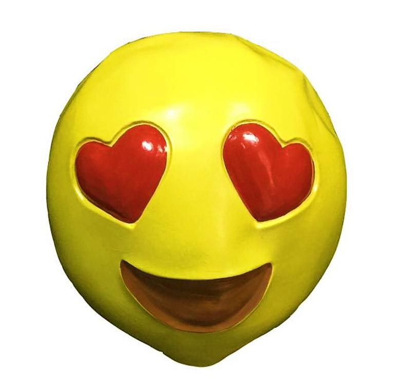 Love Emoticon Masker   Rubber
