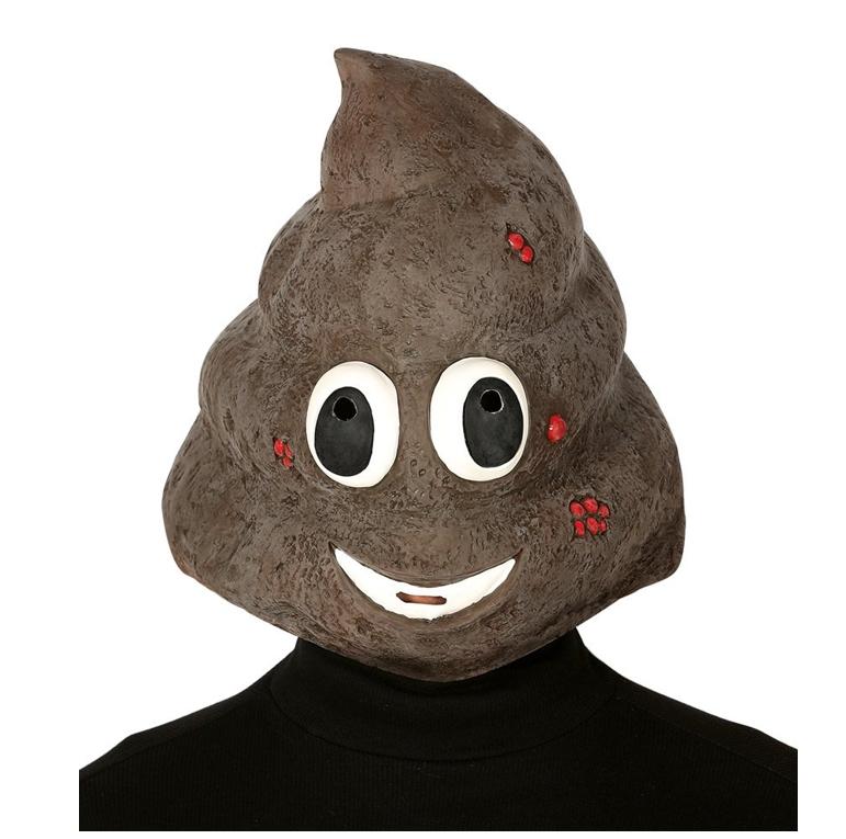 'Lachend Kakje' Emoticon Masker   Rubber