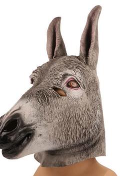 Ezel Dieren Masker | Rubber