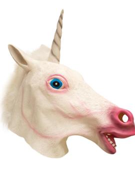 Unicorn Dieren/ Fantasy Masker | Rubber