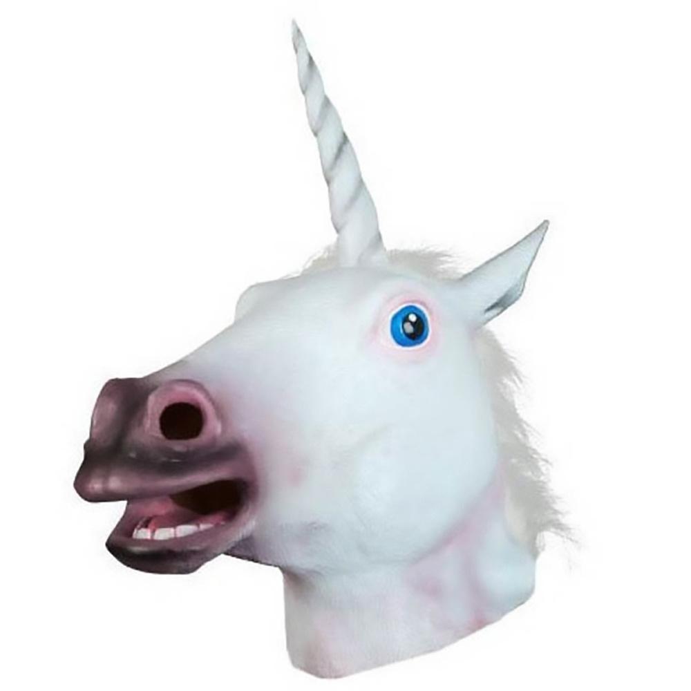 Unicorn Fantasy Masker | Rubber