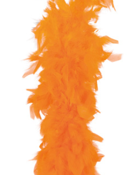 Feather Boa | Oranje 50gram