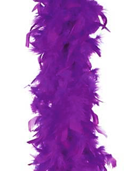 Feather Boa | Paars 50gram