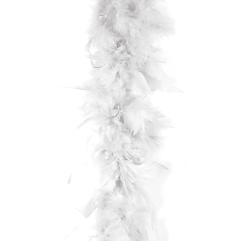 Feather Boa | Wit 50gram