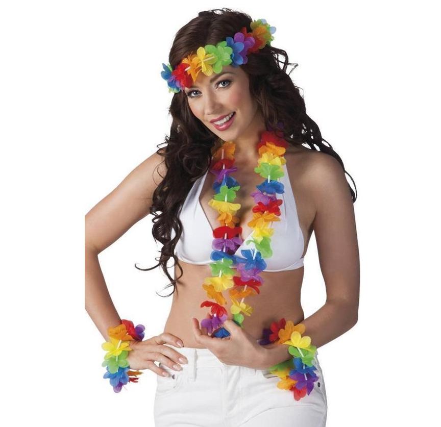Hawaii Setje | Multicolor 4 Delig