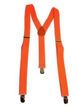 Fluo / Neon Oranje Bretellen | One Size