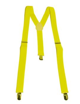 Fluo / Neon Gele Bretellen | One Size
