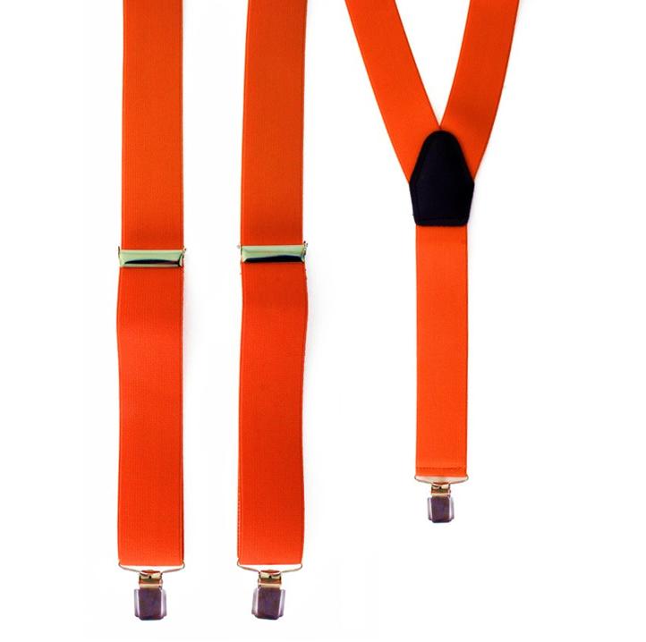 Neon Oranje Bretellen | One Size