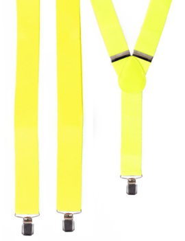 Neon Gele Bretellen | One Size