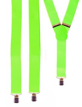 Neon Groene Bretellen | One Size