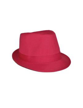 Hoedje Al Capona | Fluo Roze