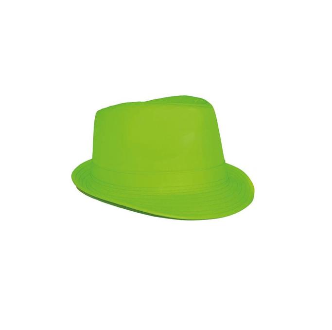Hoedje Al Capona | Fluo Groen