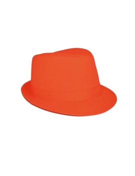 Hoedje Al Capona | Fluo Oranje
