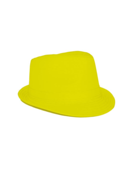 Hoedje Al Capona | Fluo Geel