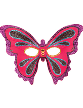 Vlinder Glitter Masker | One Size
