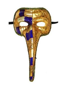 Venetiaans Masker Met Lange Neus | Koordjes