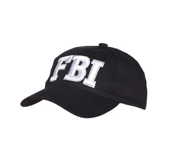 FBI Petje | Politiepet Zwart