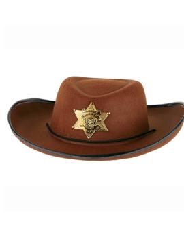 Cowboyhoed Sheriff Bruin | + Ster