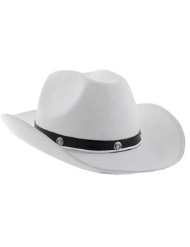 Countryhoed Wit | Cowboyhoed