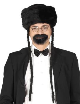 Orthodoxe Hoed Met Zwarte Pels