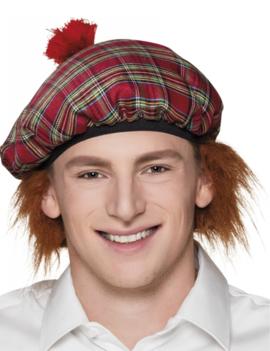 Schotse Baret + Ros Haar