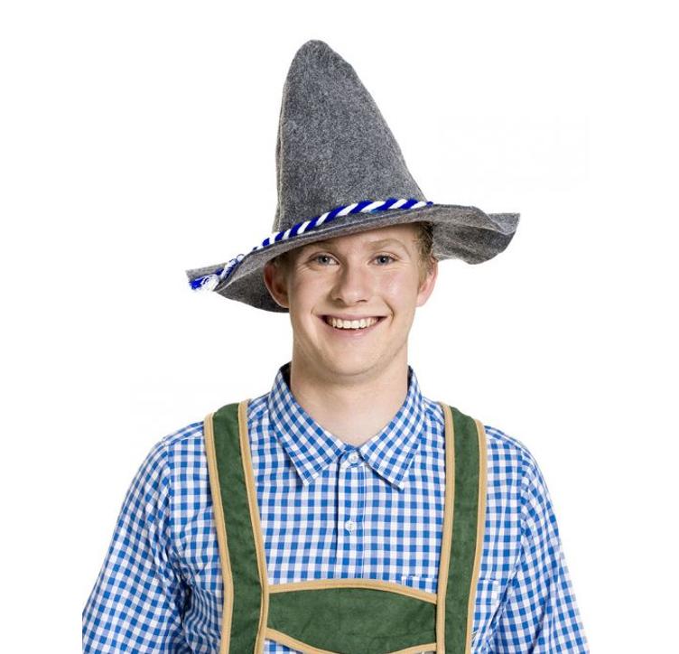 Bayern Oktoberfest  Hoedje| Grijs