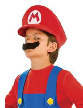Mario Kart Petje + Snor