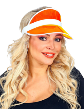 Zonneklep Oranje | Festival Klep