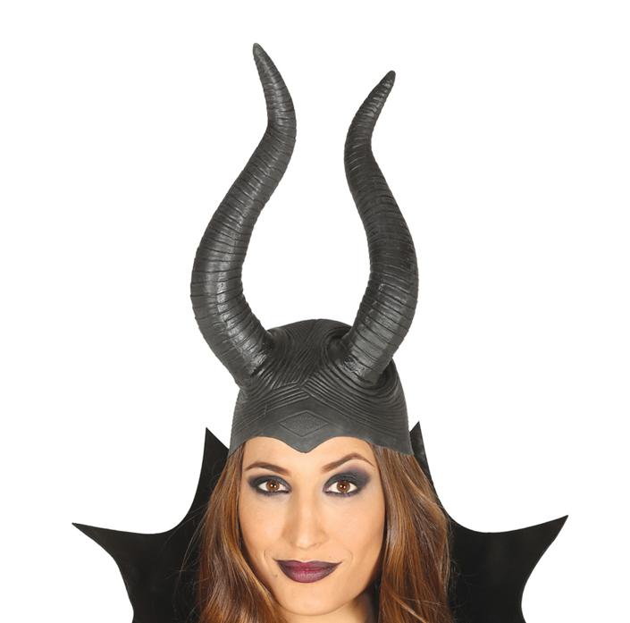 Maleficent Hoorns   Grijs/Zwart