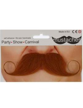 Rosse Moustache | Snor Bruin