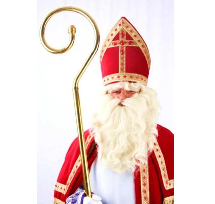 Sinterklaas Baard & Pruik | Wit