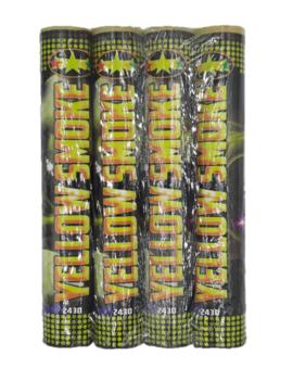Rookbommen | Rookstaaf 4 Stuks / Geel
