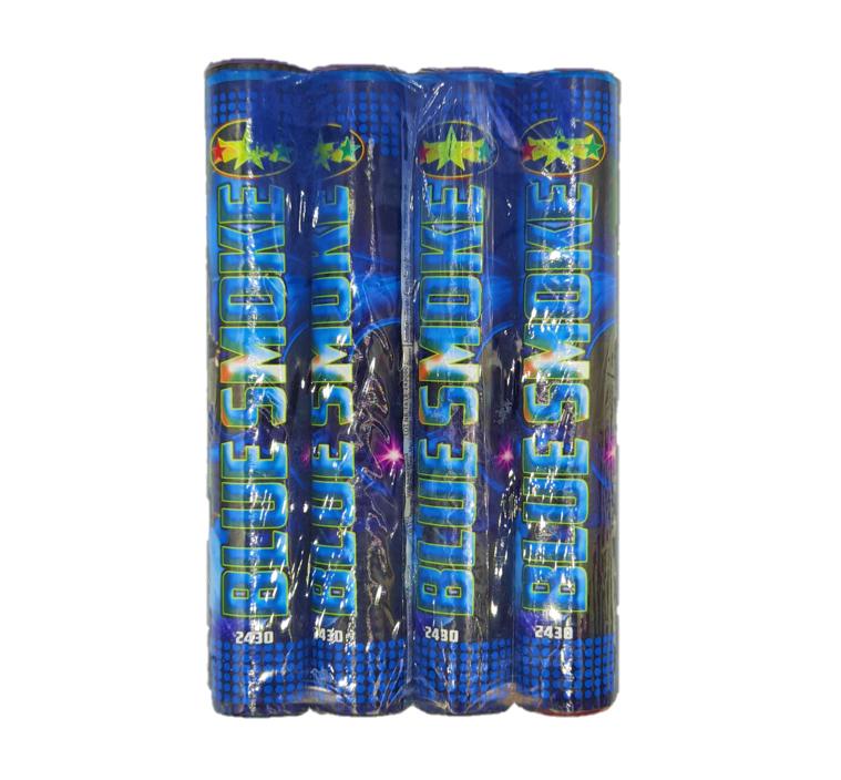 Rookbommen | Rookstaaf 4 Stuks / Blauw