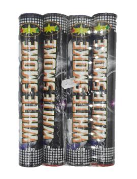 Rookbommen | Rookstaaf 4 Stuks /  Wit