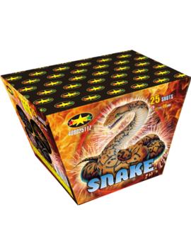 Snake Vuurwerkbatterij 25 Shots