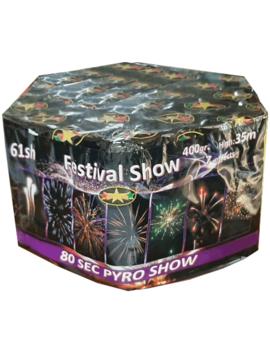 Festival Show Vuurwerkbatterij 61 Shots