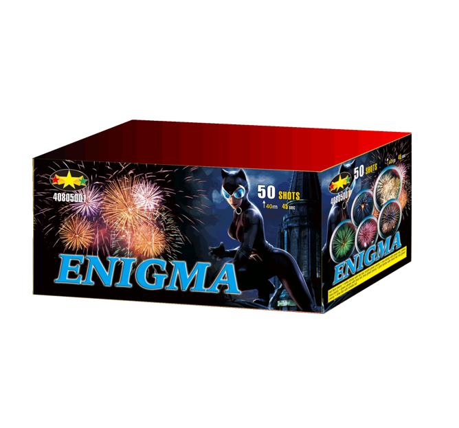 Enigma Vuurwerkbatterij 50 Shots