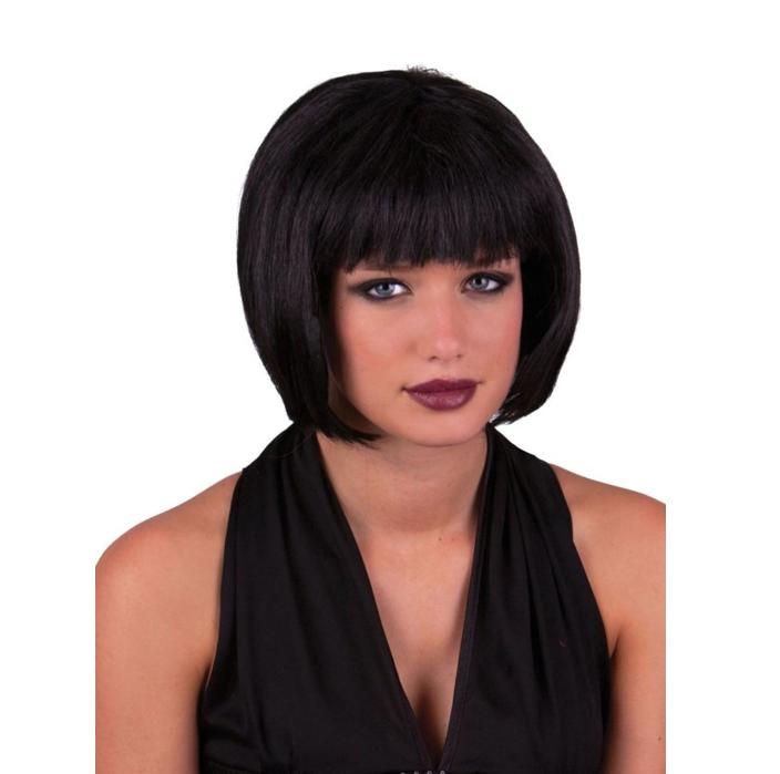 Pruik Holly Sexy   Zwart