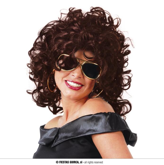 Pruik Krullen Bruin | Curls Wig