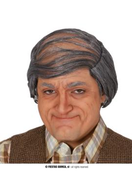 Pruik Oude Man | Grijze Opa
