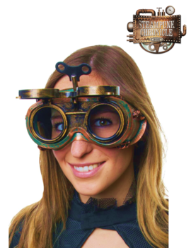 Steampunk Goggles | Wind It Up