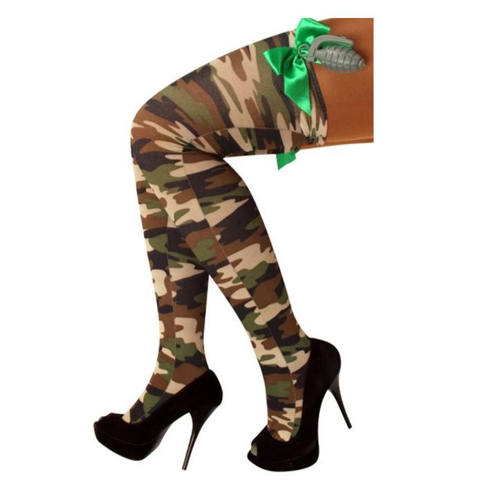 Kousen Leger Camouflage   Granaat + Strik